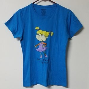 😝 Rugrats Angelica Whatever shirt junior's M